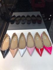 Cheap           shoes women           Garavani Rockstud ballet flats
