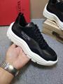 replica Valentino shoes Valentino Garavani calfskin and suede leather sneakers