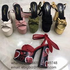 Saint Laurent Paige Sandals Saint Laurent leather Sandals Replica Saint Laurent