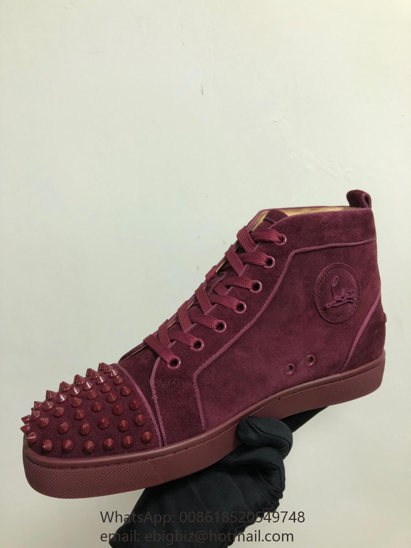 buy popular 65796 bc100 Cheap Christian Louboutin men sneakers Christian Louboutin ...