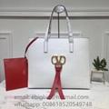 Replica Valentino handbags Price Valentino Garavani EW VRING calfskin shopper