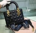 Mini Lady Dior lambskin bags My ABCDior lambskin bags Lady dior clutch wallets