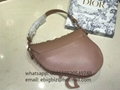 Dior Saddle bags lambskin with embroidered flowers Christian Dior Saddle Bags