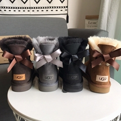 Cheap UGG boots UGG shoes UGG Classic Short Boots Sheepskin Water Resistant