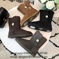 UGG MINI Bailey Button Bling II Boots Cheap Ugg Sheepskin Classic boots on sale