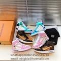 Louis Vuittonx Nike Sneakers LV Nike Air Jordan 1 Sneakers LV shoes new 2020