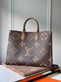 Louis Vuitton Onthego GM/MM Monogram Handbag Tote Cheap LV handbags on sale