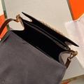 Louis Vuitton Monogram Dauphine MM Bag Chain Shoulder Canvas Auth New LV handbag