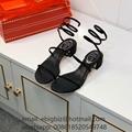 Jeweled Shoes Rene caovilla crystal Heels Cheap Rene Caovilla Sandals