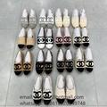 Espadrilles Shoes CC Logo brand shoes CC brand Espadrilles Flats shoes on sale