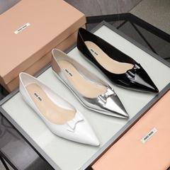 Cheap MIU MIU Flats discount MIU MIU shoes price MIU MIU women shoes new 2021