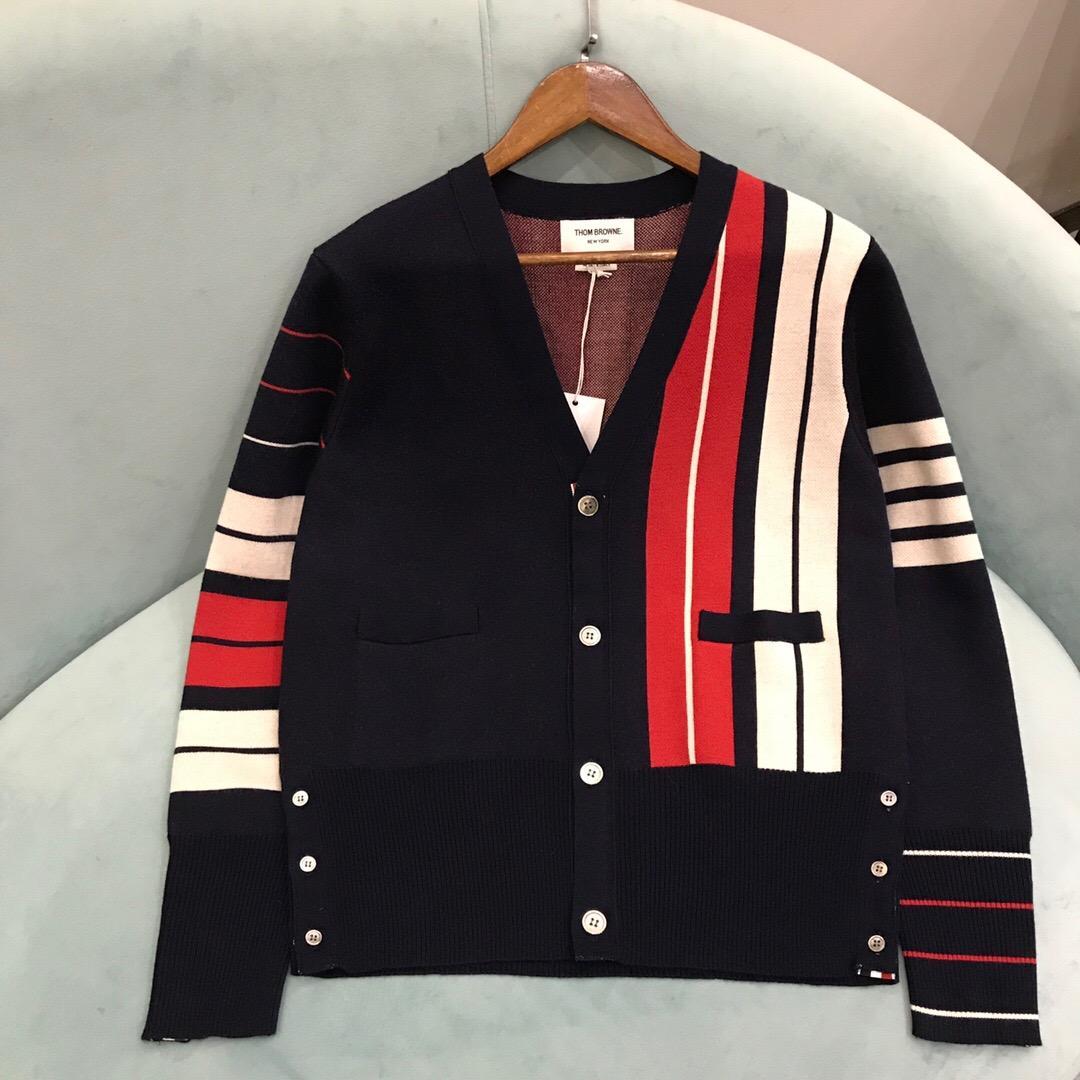 Cheap Thom Browne men's Sweaters for men Thom Browne Cardigan Sweatshirts Women 3