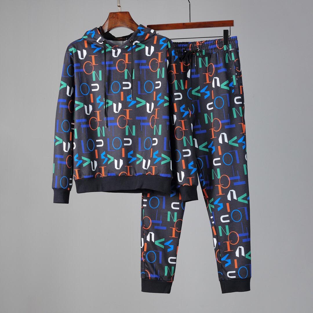 Cheap               men tracksuits               Sweatshirts    sweatpants 4