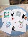 The North Face x Gucci cotton T-shirts Gucci t-shirts for women Gucci men shirts