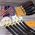 Louis Vuitton Monogram belts Louis Vuitton belt men Louis Vuitton belt women