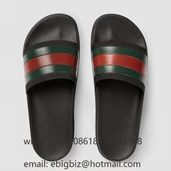 Cheap Gucci Flip Flops Men Sandals Gucci Gucci Pursuit Rubber Sandals Slides