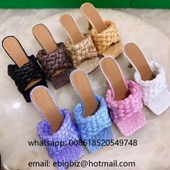Cheap Bottega Venetta BV Lido Sandals Wholesale                Sandals Heels