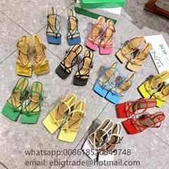Cheap                Leather Sandals discount Bottega Venata Quilted Sandals