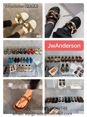 Cheap JW Anderson Chain Loafers Mules discount JW Anderson women shoes on sale