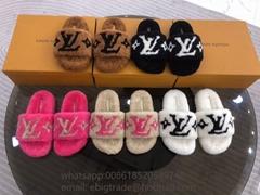 Cheap               Paseo Flat Comfort Mule                  Fur Slide Sandals (Hot Product - 3*)