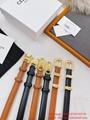 Wholesaler Celine Women's Leather Belts Cheap Celine vintage leather belt women