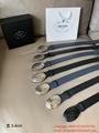 Prada Belt With Oval Clasp