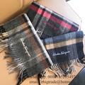 Salvatore Ferragamo Scarf Silk mens Ferragamo wool scarf women's Ferragamo Scarf