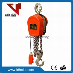 Lifting machine lifting