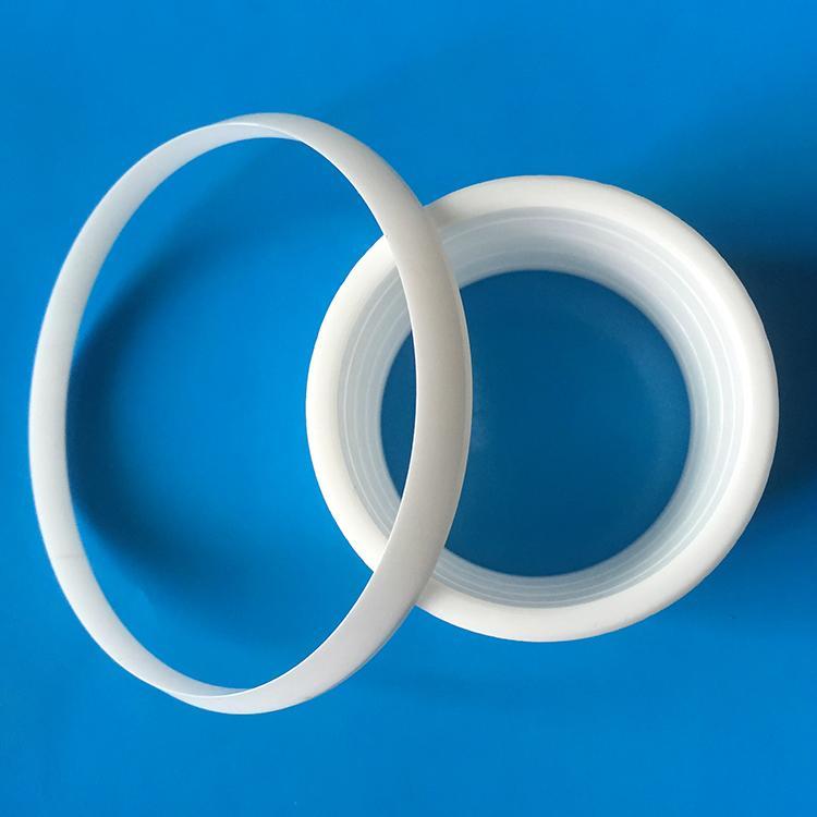 Shenzhen High wear Resistance  Industrial 95 Alumina Ceramic rings 1
