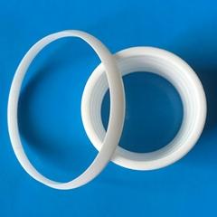 Shenzhen High wear Resistance  Industrial 95 Alumina Ceramic rings