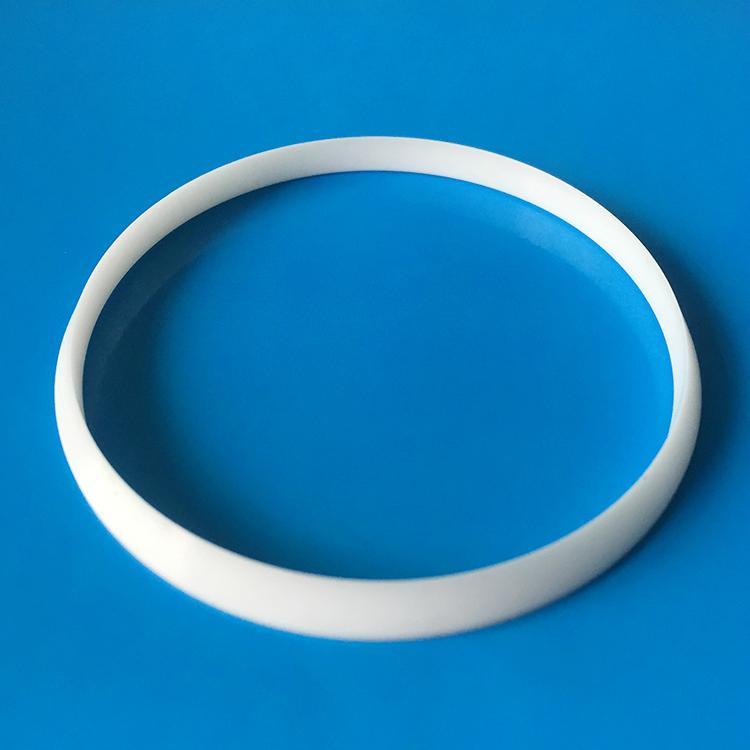 Shenzhen High wear Resistance  Industrial 95 Alumina Ceramic rings 2