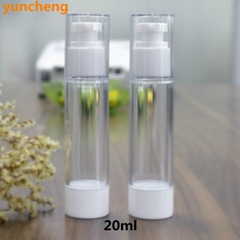 15ml 20ml 30ml plastic airless cream bottle