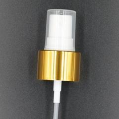 20 410 cosmetic PP perfume mist sprayer aluminium plastic spray pump