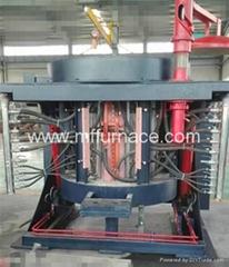 Best Quality 2000kg induction cast melting furnace
