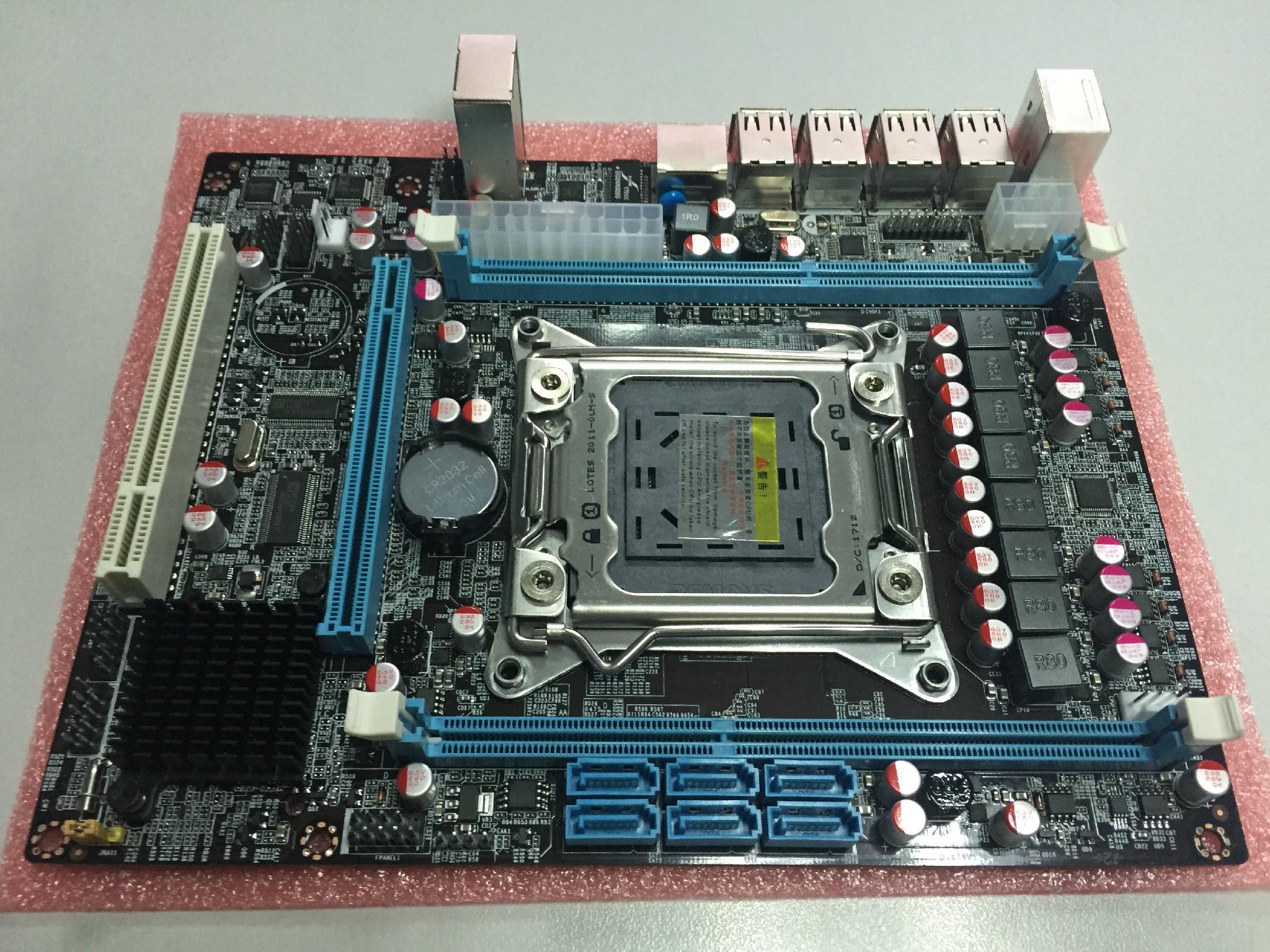 D-X79 NEW Mainboard FOR LGA2011 xeon series CPU - Winnfox