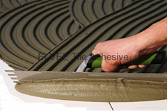 Tile cement adhesive