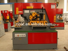 hydraulic multi-function steelworker,combined punch cut bend and notch