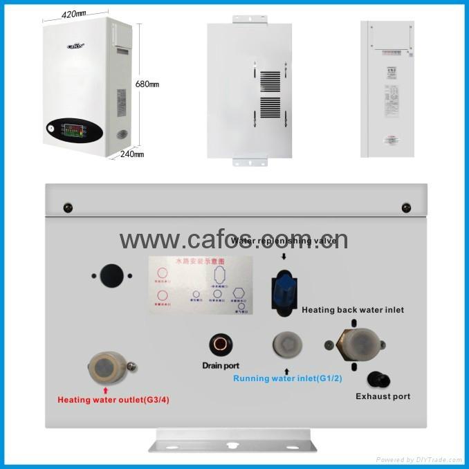 16-50KW 220V三相环保电中央供暖炉用于家庭供暖 3