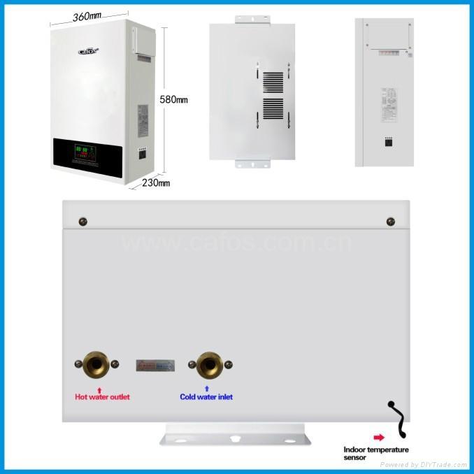热销高品质感应电锅炉家庭供暖 3