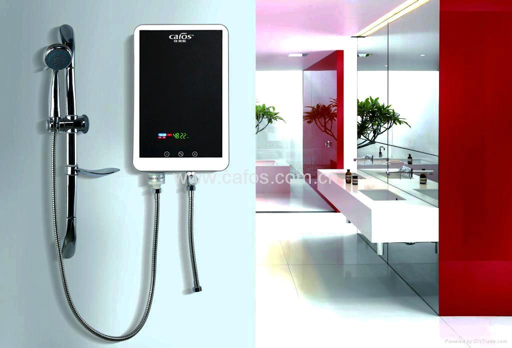 新款挂式即热感应无水箱式热水器 5