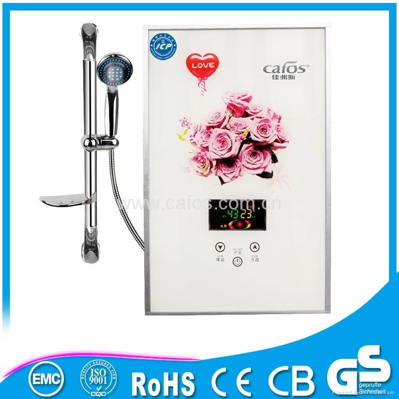 安全壁挂式便携式洗浴热水器 4
