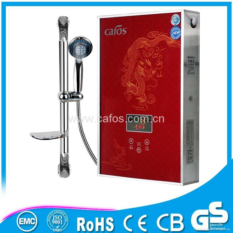 安全壁挂式便携式洗浴热水器 5