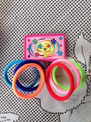 Generic Fashion Tousheng seamless high elastic hair ring hair rope Korean hair a