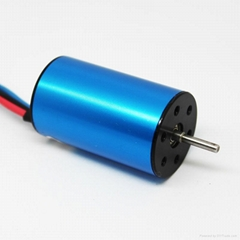 4Pole 2440 4500KV Sensorless Brushless Motor for 1/18 1/16 RC Car Boat
