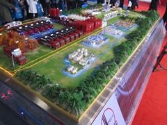 大慶石油化工模型