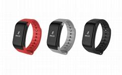 NEW Model waterproof Heart Rate Smart Bracelet F1