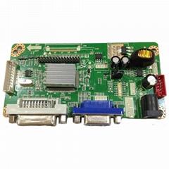LM.R61.B5-4 LCD Display Controller Board with VGA DVI Input