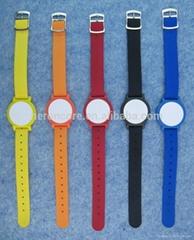 Customized Nylon wristband cool RFID bracelet