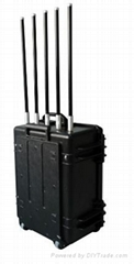 10W to100W Manpack portable Cellphone Jammer