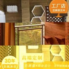 防腐木陽台